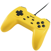 BSGP1001YE [USBゲームパッド 10ボタンタイプ デジタル対応 イエロー]