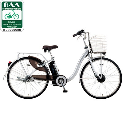 CY-SPL226(S) [電動アシスト自転車(26型) シルバー 電動ハイブリッド自転車 eneloop bike(エネループバイク)]