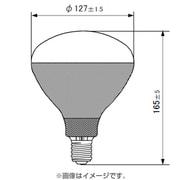 PRF-500WD [白熱電球 写真用レフランプ E26口金 500W形 タングステン用]