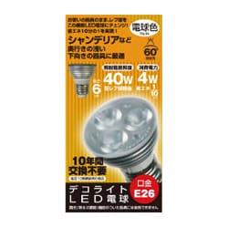 JD2606CC [LED電球 E26口金 電球色相当 210lm]