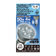 JD1708AC [LED電球 E17口金 白色相当 260lm]