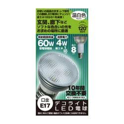 JD1708BD [LED電球 E17口金 温白色相当 230lm]