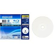 BR25VPLWPB.20S [録画用BD-R 追記型 1-4倍速 片面1層 25GB 20枚 インクジェットプリンタ対応]