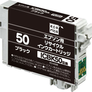 ECI-E50B [エプソン ICBK50 互換リサイクルインクカートリッジ ブラック]