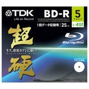 BRD25HCPWB5A [データ用BD-R 片面1層25GB 1-4倍速 インクジェットプリンタ対応 5枚 超硬]