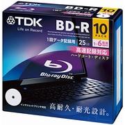 BRD25PWC10A [データ用BD-R 片面1層25GB 1-6倍速 インクジェット対応 10枚]