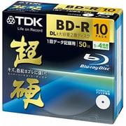 BRD50HCPWB10A [データ用BD-R DL 片面2層50GB 1-4倍速 インクジェット対応 10枚 超硬]