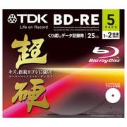 BED25HCPWA5A [データ用BD-RE 片面1層25GB 1-2倍速 インクジェットプリンタ対応 5枚 超硬]