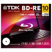BED25PWA10A [データ用BD-RE 片面1層25GB 1-2倍速 インクジェットプリンタ対応 10枚]