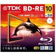 BEV25PWA10A [録画用BD-RE書換え型 1-2倍速 片面1層 25GB 10枚 インクジェットプリンター対応 スタンダードシリーズ]