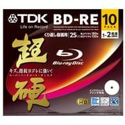 BEV25HCPWA10A [録画用BD-RE 書換型 1-2倍速 片面1層 25GB 10枚 インクジェットプリンタ対応 超硬]
