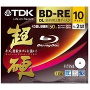 BEV50HCPWA10A [録画用BD-RE DL 書換型 1-2倍速 片面2層 50GB 10枚 インクジェットプリンタ対応 超硬]