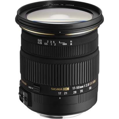 17-50mmF2.8EX DC OS HSM [17-50mm/F2.8 キヤノンEFマウント APS-Cサイズ用レンズ]