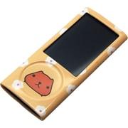 RX-IJK484KBS [第5世代iPod nano用セミハードケース カピバラさん オレンジ]