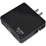 MBP-U2P/BK [AC+USBモバイルタップ ブラック]