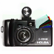 HOLGA K-200NM/FEL/FV [トイカメラ K-200NMフィッシュアイII ブラック]