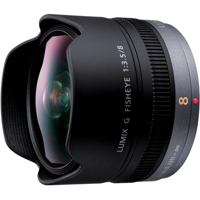 H-F008 [デジタル一眼カメラ用交換レンズ LUMIX G FISHEYE 8mm/F3.5 マイクロフォーサーズ]