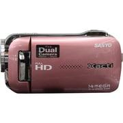 VPC-GH1PX P [スリムコンパクト 14M静止画 FULL HDムービーカメラ ピンク 海外仕様製品]