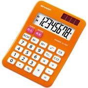 EL-760TDX [カラー・デザイン電卓 ミニミニナイスサイズタイプ 8桁 パンプキンオレンジ]