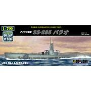 世界の潜水艦シリーズ No.11 アメリカ海軍 SS-285 バラオ [プラモデル]