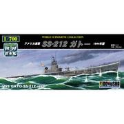 世界の潜水艦シリーズ No.13 アメリカ海軍 SS-212 ガトー 1944年 [プラモデル]
