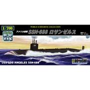 世界の潜水艦シリーズ No.14 アメリカ海軍 SSN-688 ロサンゼルス [プラモデル]
