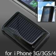 ソーラーチャージeco2-for iPhone/iPod-(BK) [超小型ソーラー充電器]