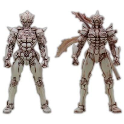 MANGA REALIZATION 覚悟のススメ 強化外骨格零&覚醒式強化外骨格雷電