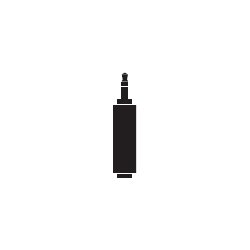 ATL437CS [変換プラグ ミュージカルシリーズ φ3.5mmステレオミニジャック-φ2.5mmステレオミニプラグ]