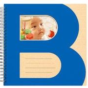 ブックリングアルバム ベビー 2L ブルー [2L角4枚/2L汽車1枚/2L雲1枚/L-2角2枚]