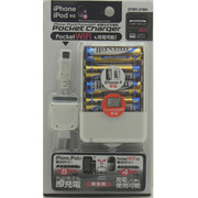 QTBPI-01WH [ポケットチャージャー 単三電池4本タイプ iPhone/iPod&PocketWiFi用]