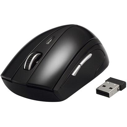 BSMOW07BK [無線(2.4GHz)光学式マウス 5ボタン/横スクロールタイプ ブラック]