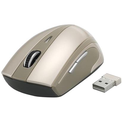 BSMOW07BW [無線(2.4GHz)光学式マウス 5ボタン/横スクロールタイプ ブラウン]