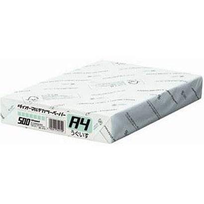 86-410 [ダイオーマルチカラー インクジェット/レーザー/コピー機対応 うぐいす A4 500枚]