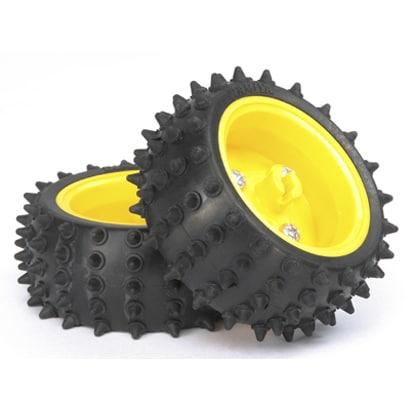 ピンスパイクタイヤセット(65mm径) [70194]