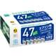ECI-E476P/BOX [エプソン IC6CL47 互換リサイクルインクカートリッジ 6色パック]