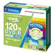 VHR12JMP20TV1 [録画用DVD-R 120分 1-16倍速 CPRM対応 20枚 インクジェットプリンタ対応]