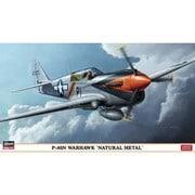 P-40N ウォーホーク ナチュラルメタル [1/48スケール プラモデル]