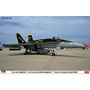 F/Aー18C/E ホーネット VFA-115 イーグルス ヒストリー [1/72スケール プラモデル]