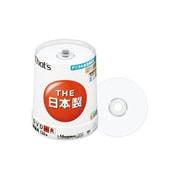 DR-C12AWPY100BN [録画用DVD-R 120分 1-16倍速 CPRM対応 アクアホワイトプリンタブル スピンドルケース 100枚]