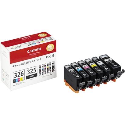 BCI-326+325/6MP [インクタンク BCI-326 (BK/C/M/Y/GY) + BCI-325 マルチパック]