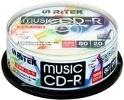 CD-RMU80.20SP [音楽用CD-R 1~24倍速 700MB 20枚]