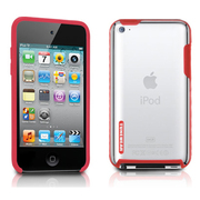 TUN-IP-000136 [第4世代iPod touch用ケース TUNESHELL RubbeFrame for iPod touch 4G レッド]