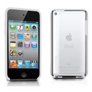 TUN-IP-000138 [第4世代iPod touch用ケース TUNESHELL RubbeFrame for iPod touch 4G ホワイト]