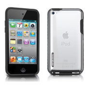 TUN-IP-000139 [第4世代iPod touch用ケース TUNESHELL RubbeFrame for iPod touch 4G ブラック]