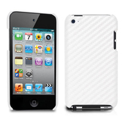 TUN-IP-000156 [第4世代iPod touch用ケース CarbonLook for iPod touch 4G ホワイト]