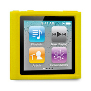 TUN-IP-000161 [第6世代iPod nano用シリコンケース ICEWEAR for iPod nano 6G イエロー]