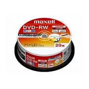 DW120PLWP.20SP [録画用DVD-RW 120分 1-2倍速 CPRM対応 20枚 インクジェットプリンター対応]