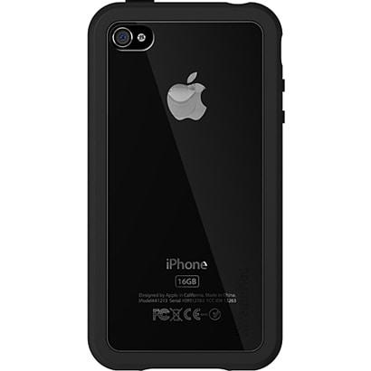 IPP-MA4-13 [iPhone4用アドバストシリコンケース Microshield Accent(マイクロシールド アクセント) ブラック]