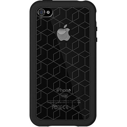 IPP-MT4-13 [iPhone4用アドバストシリコンケース Microshield Tatu(マイクロシールド タトゥ) ブラック(ブロック)]